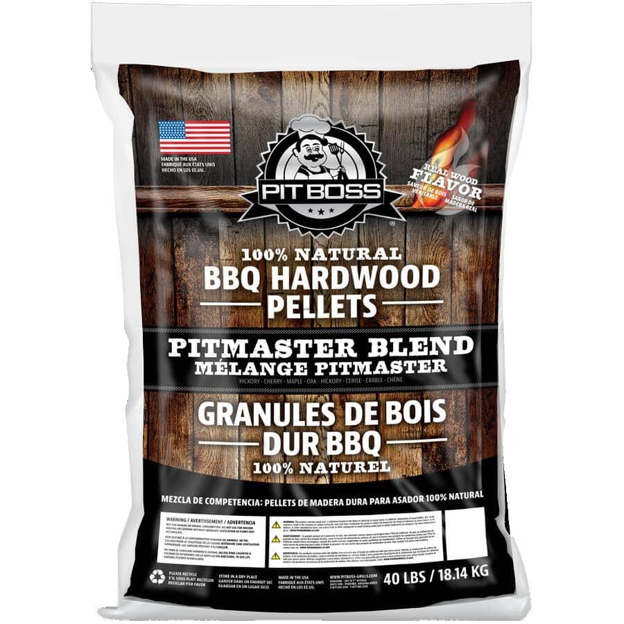 PIT BOSS:40 lb Wood Pellets - Pitmaster Blend
