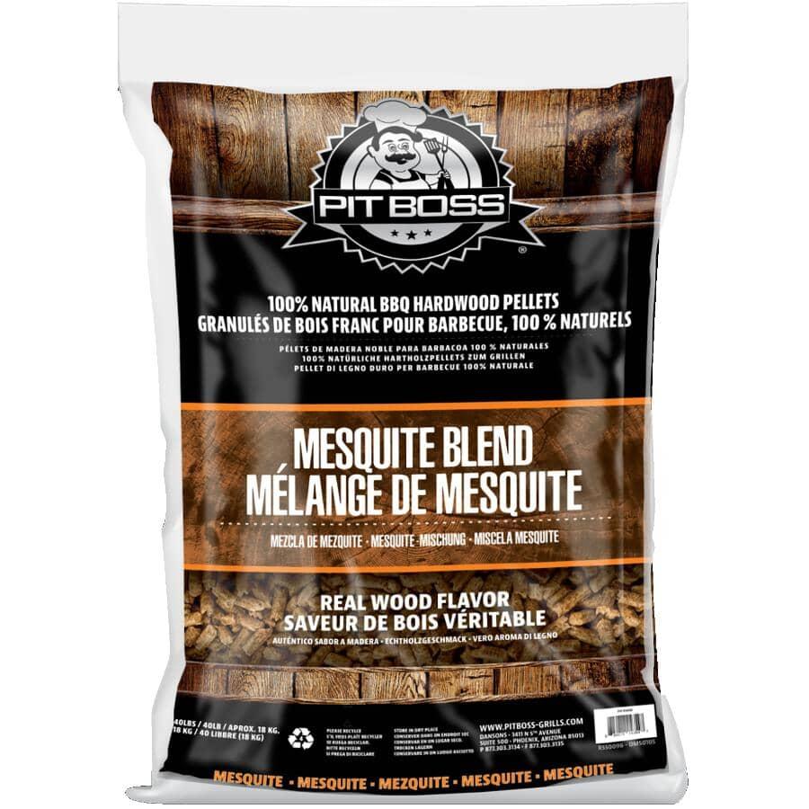 PIT BOSS:40 lb Wood Pellets - Mesquite Blend