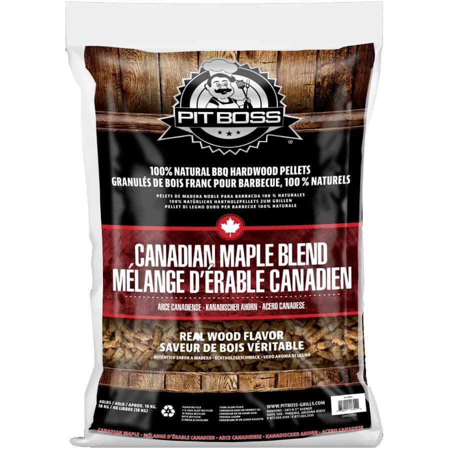 PIT BOSS:40 lb Wood Pellets - Maple Blend