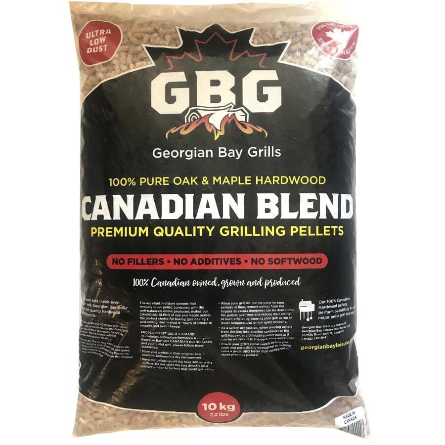 GEORGIAN BAY GRILLS:22 lb Wood Pellets - Canadian Blend