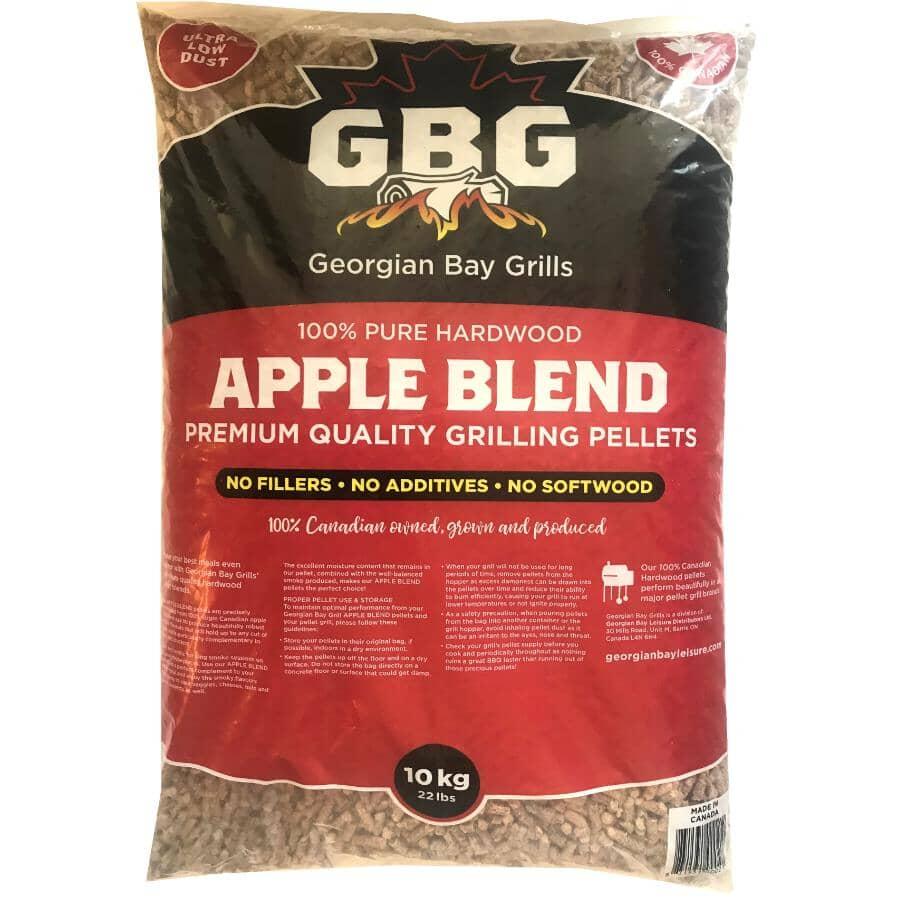 GEORGIAN BAY GRILLS:22 lb Wood Pellets - Apple Blend