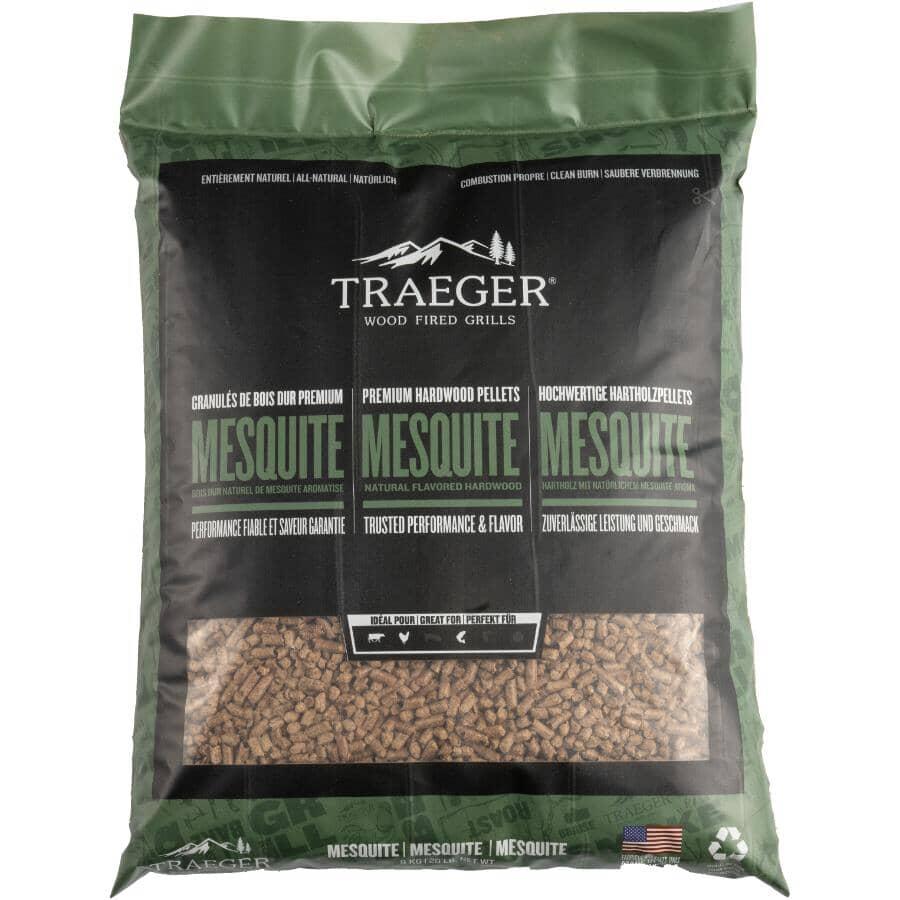 TRAEGER:20lb Mesquite Flavour Wood Pellets