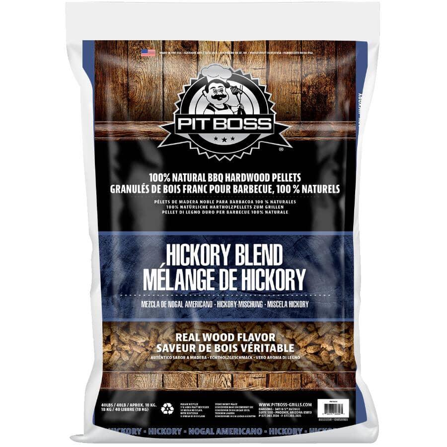 PIT BOSS:40lb Hickory Flavour Wood Pellets