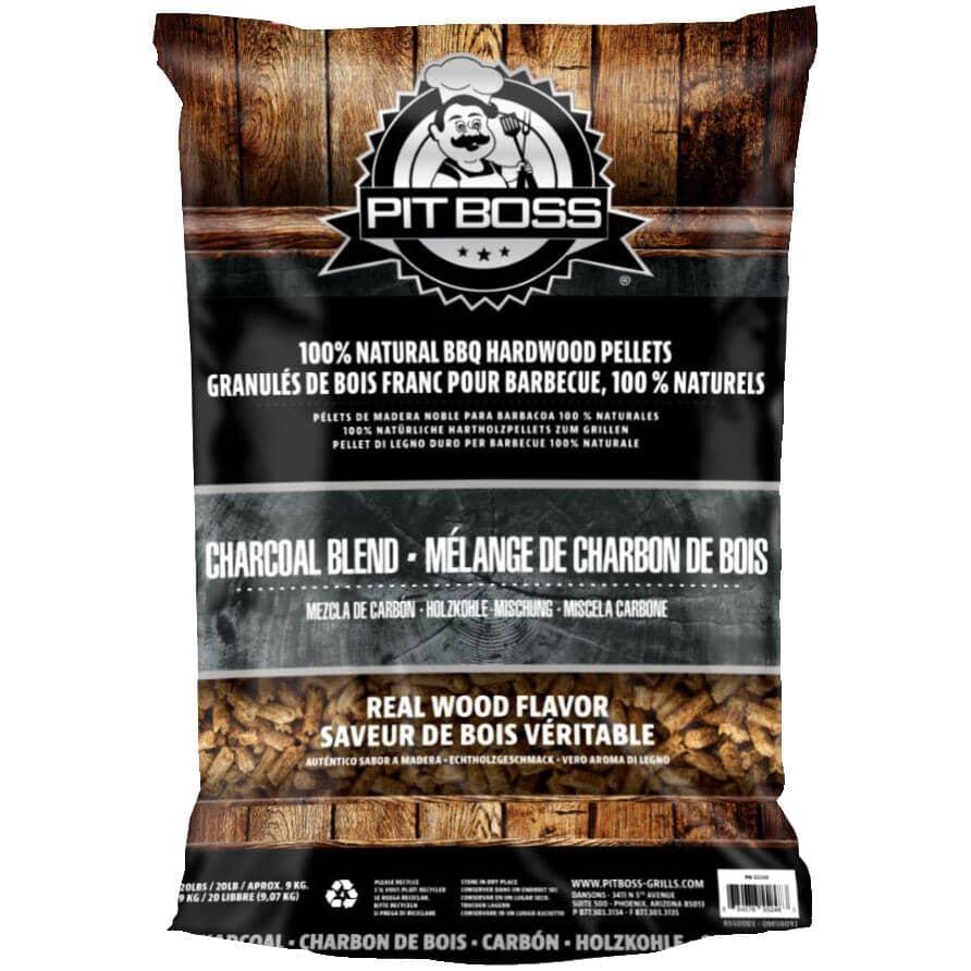 PIT BOSS:40 lb Wood Pellets - Charcoal Blend