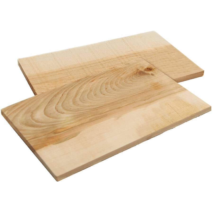 GRILLPRO:Maple BBQ Planks - 2 Pack