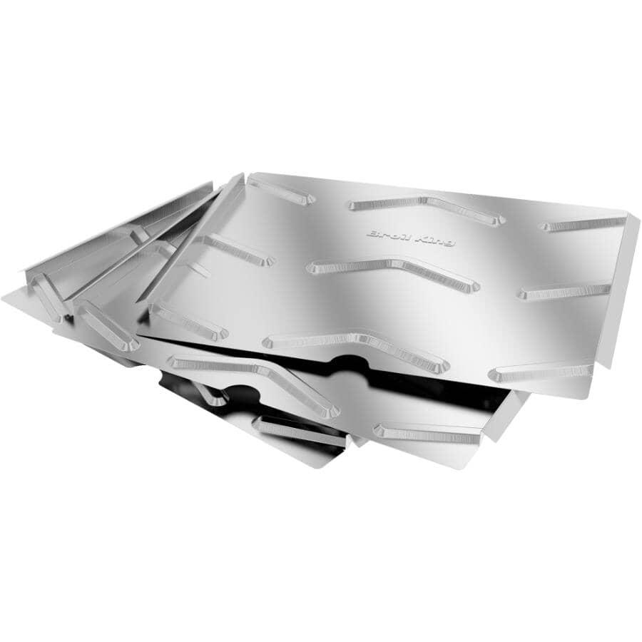 BROIL KING:Aluminum Pellet Foil Drip Pan Liners - 6 Pack