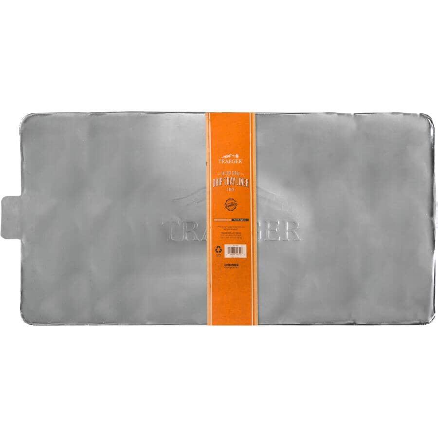 TRAEGER:5 Pack Aluminum Pellet Foil Drip Pan Liner, for HH#6480-953
