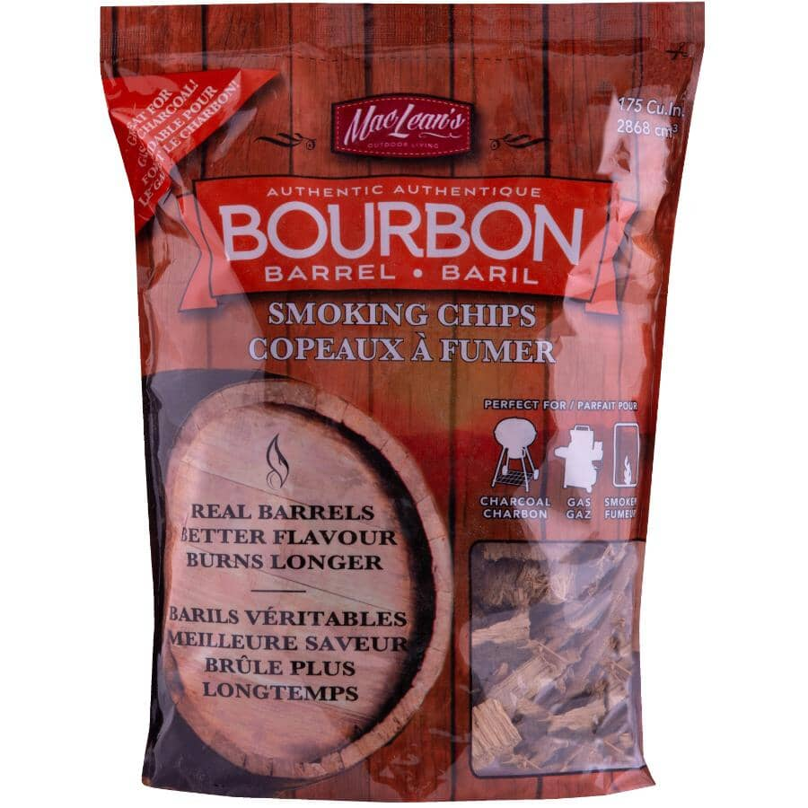 MACLEANS:Bourbon Smoking Chips - 2 lb