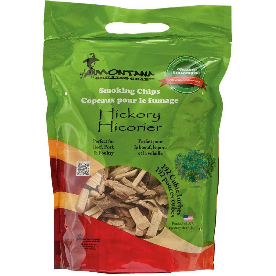 MONTANA GRILLS:Copeaux à fumer, hickory, 2 lb