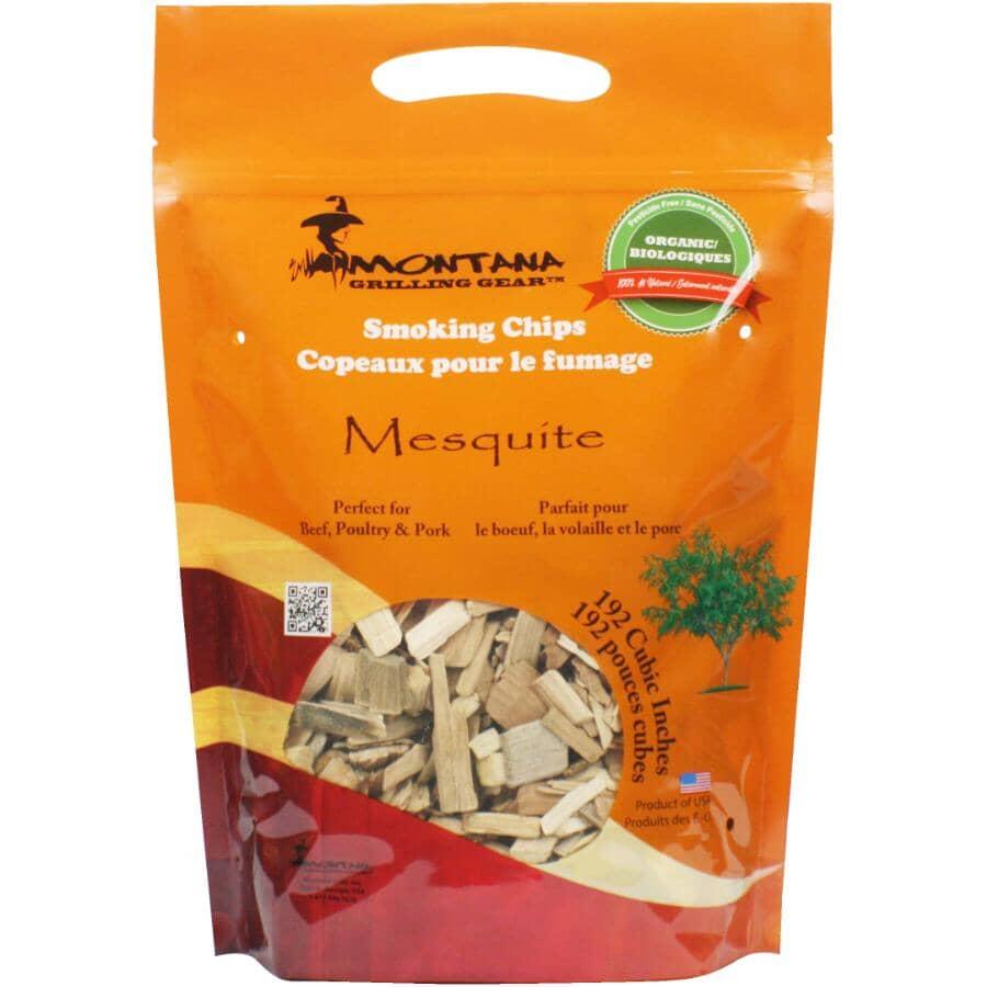 MONTANA GRILLS:Mesquite Smoking Chips - 2 lb
