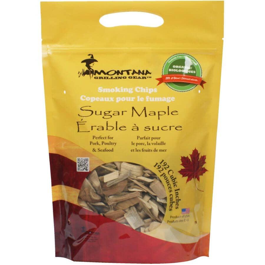 MONTANA GRILLS:Sugar Maple Smoking Chips - 2 lb