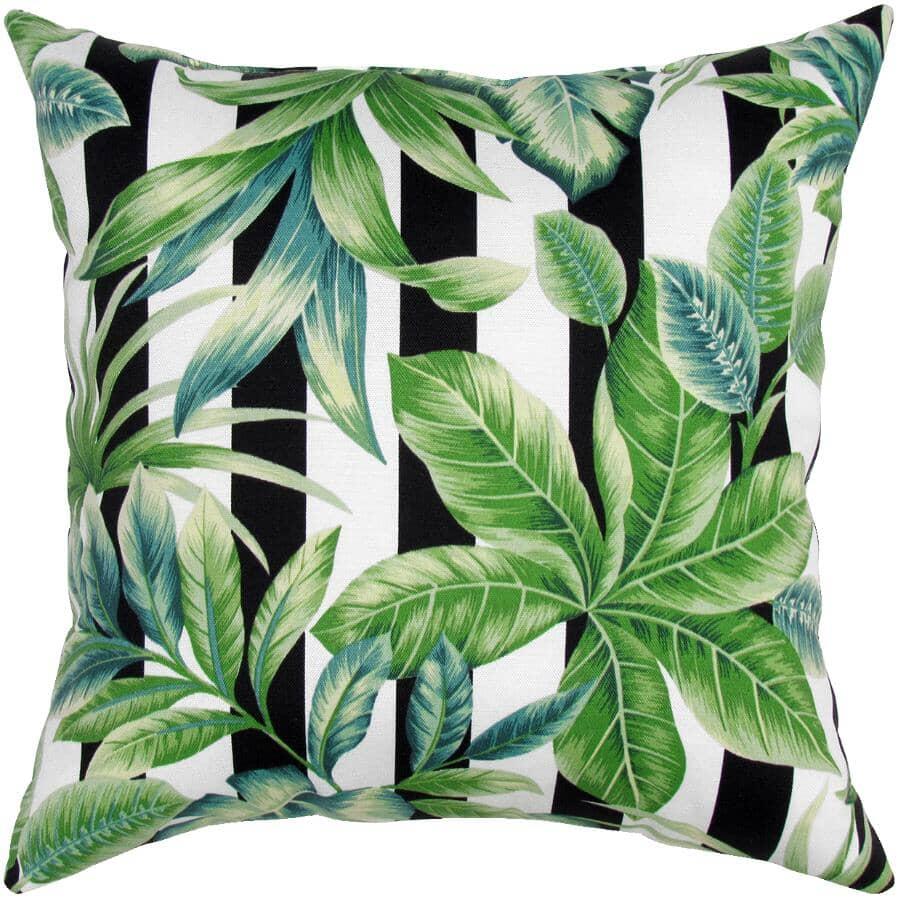 """BOZANTO:16"""" Square Throw Pillow - Stripes"""