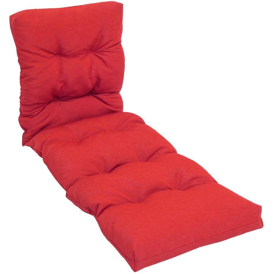 BOZANTO:Solid Red Lounge Cushion