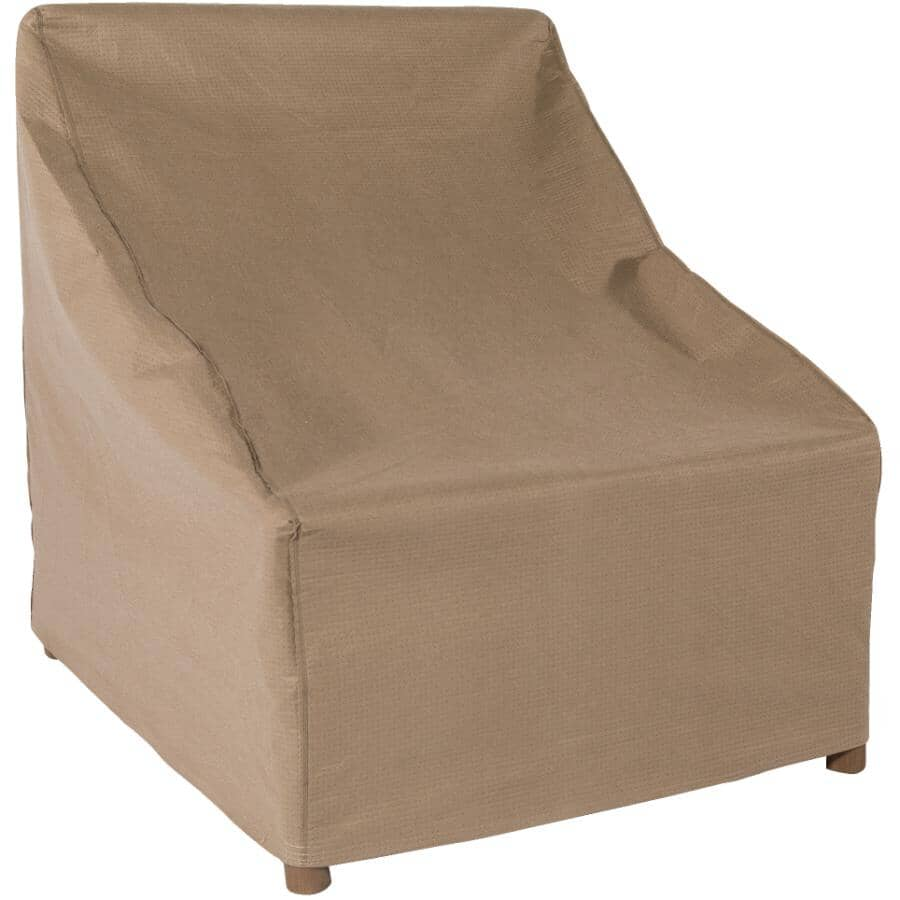 """CLASSIC ACCESSORIES:30"""" x 28"""" x 49"""" Latte Patio Stackable Chair Cover"""