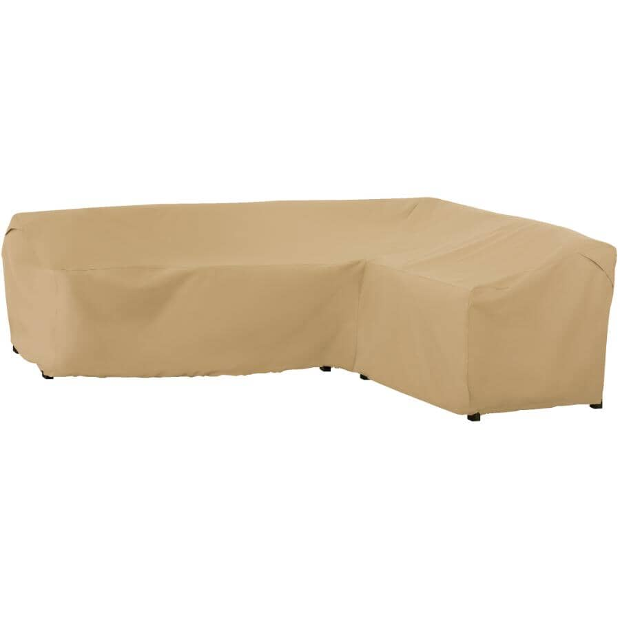 """CLASSIC ACCESSORIES:104"""" Right Side x 83"""" Left Side Right Hand Sectional Lounge Cover"""