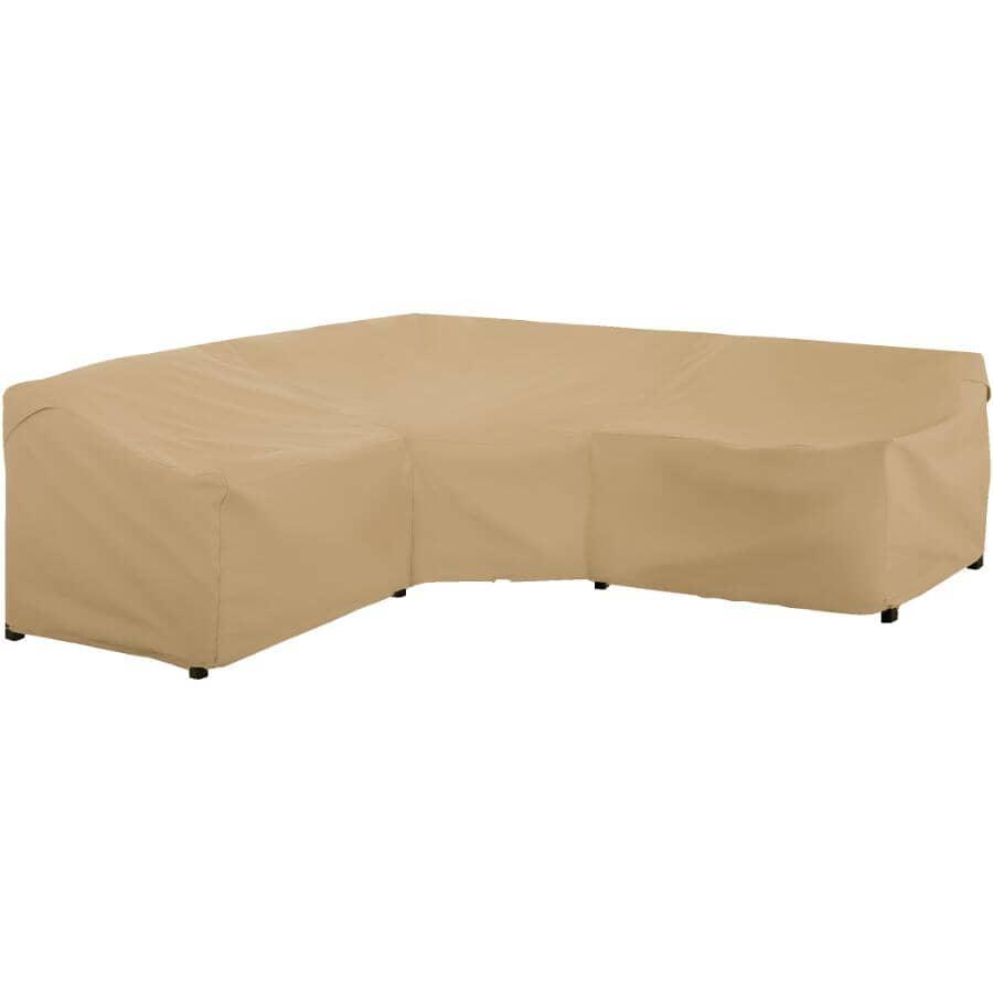 CLASSIC ACCESSORIES:Housse pour canapé sectionnel en forme de V, 100 x 100 po