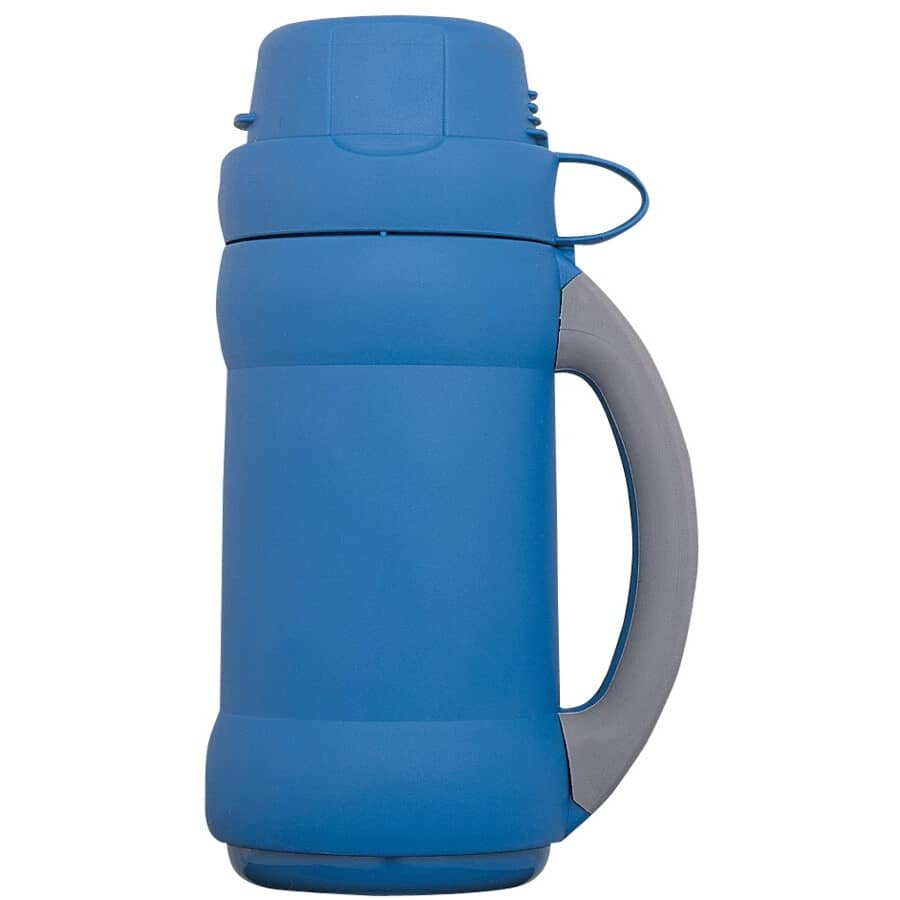 THERMOS:Add-A-Cup Vacuum Insulated Beverage Bottle - Assorted Colours, 500 ml