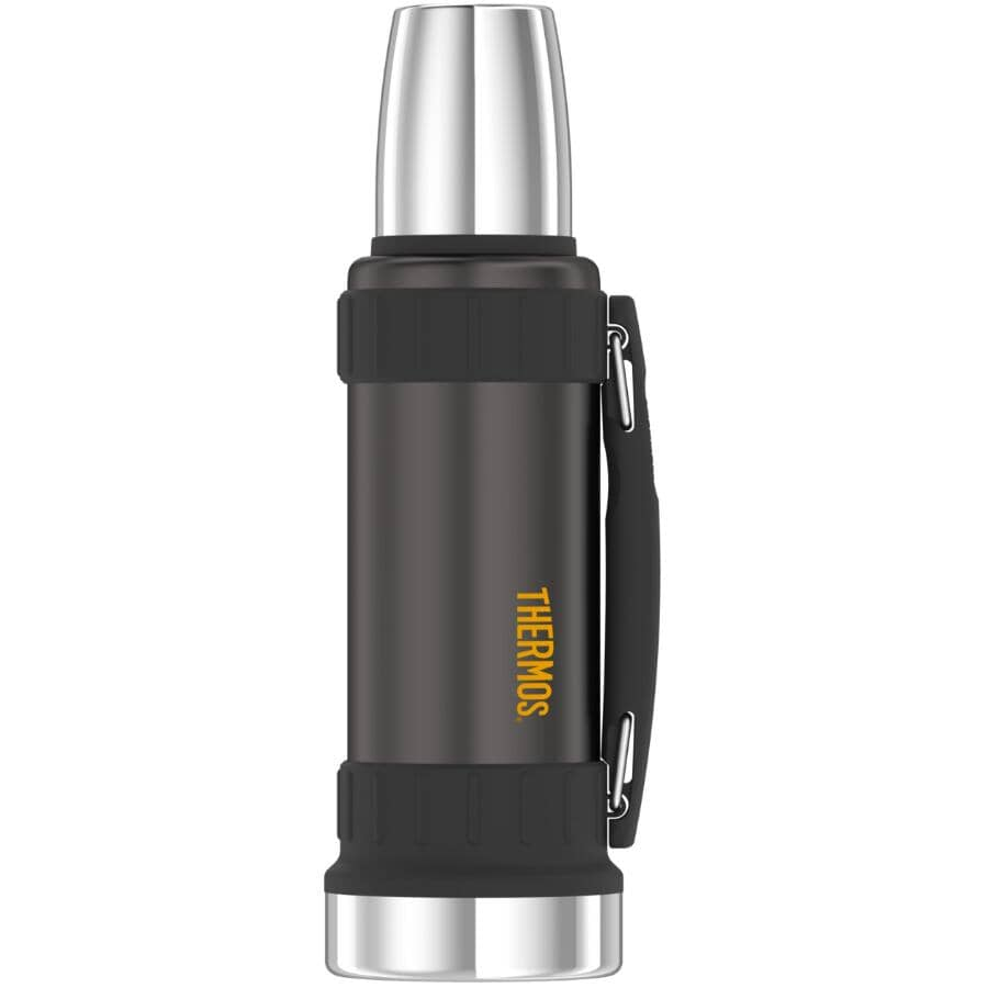 THERMOS:Stainless Steel Vacuum Insulated Beverage Bottle - 1.2 L