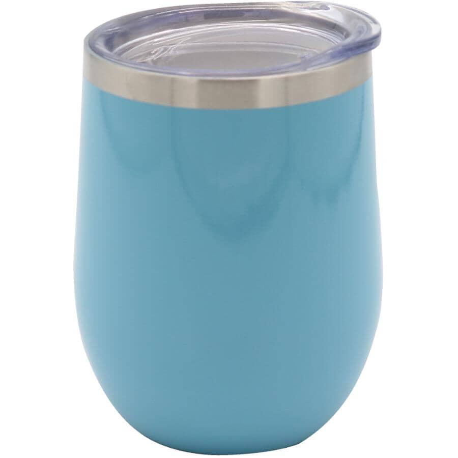 KURAIDORI:12oz Thermal Stemless Wine Glass - Blue