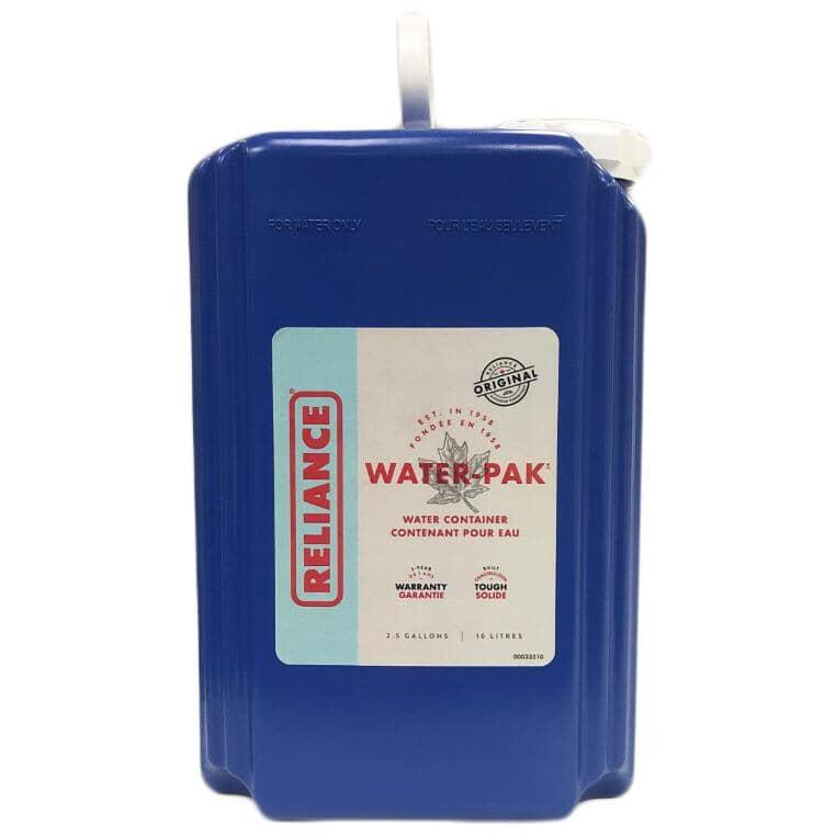 RELIANCE:Cruche d'eau Water-Pack, 10 L