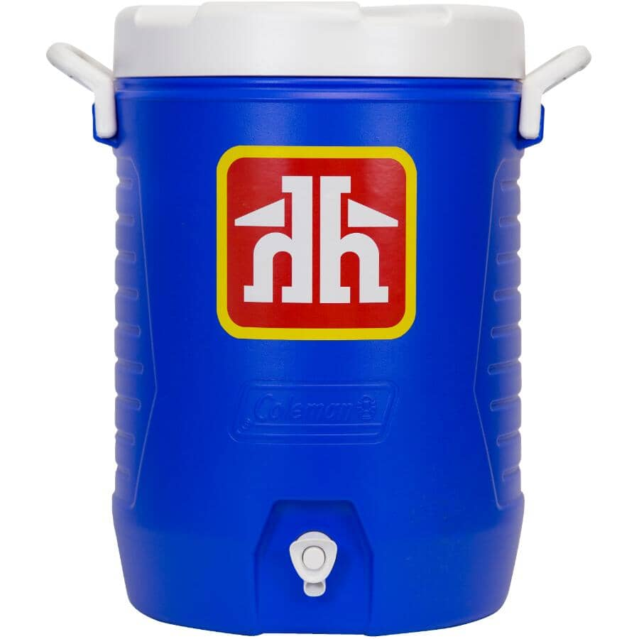 HOME HARDWARE:5 Gallon Blue Beverage Jug