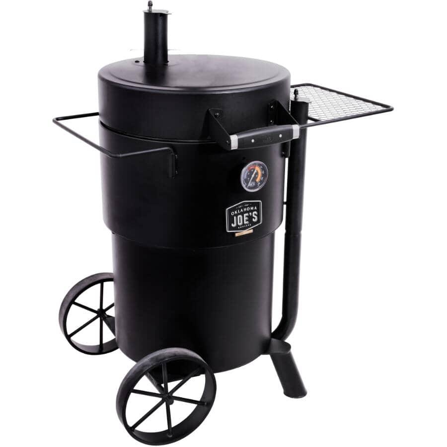 OKLAHOMA JOE'S:Bronco Drum Smoker BBQ