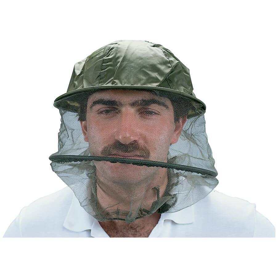 WORLD FAMOUS:Green Mosquito Head Net