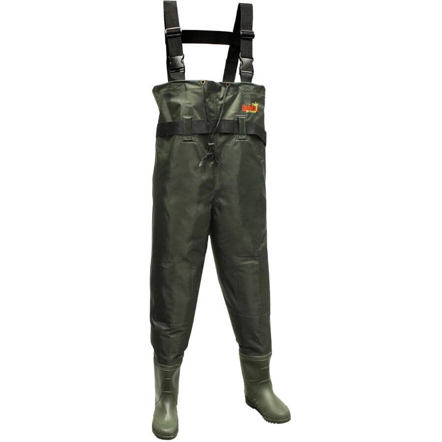 BUSHLINE:Bottes-pantalon en caoutchouc, taille 9