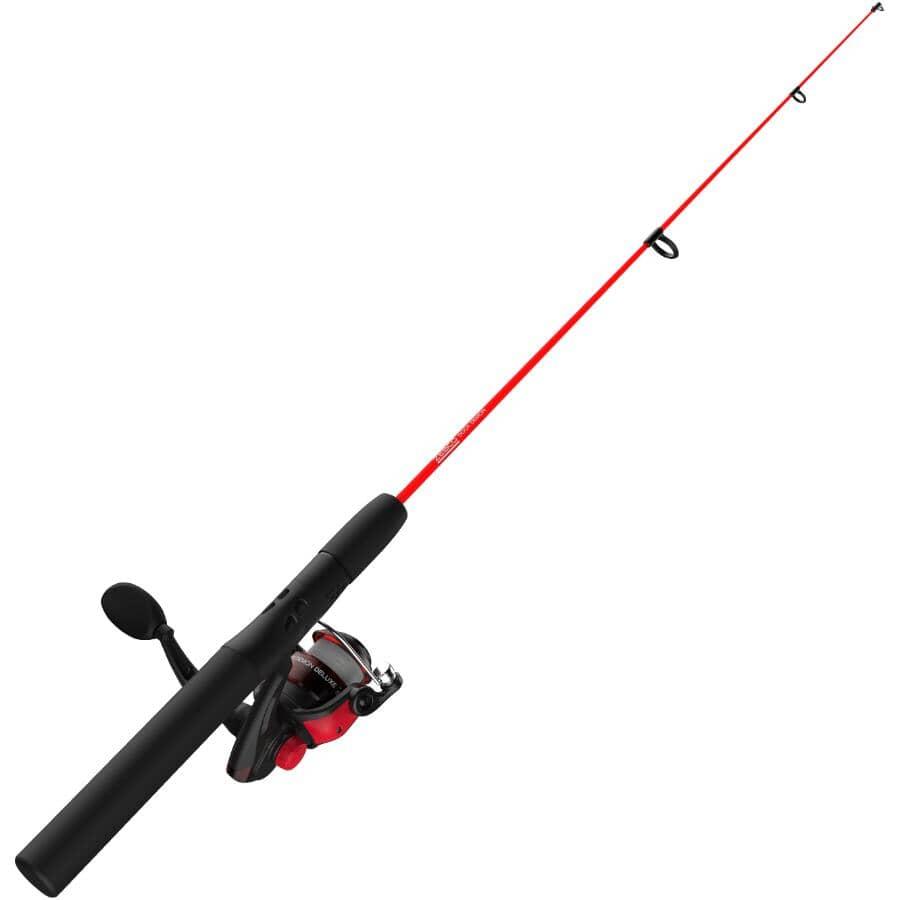 ZEBCO:Dock Demon Flatboard Spinning Combo Fishing Rod and Reel
