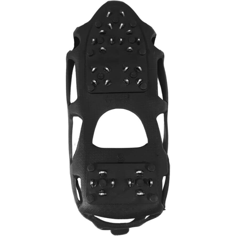 LIFE SPORTS GEAR:Medium Ice Traction Stainless Steel Cleats