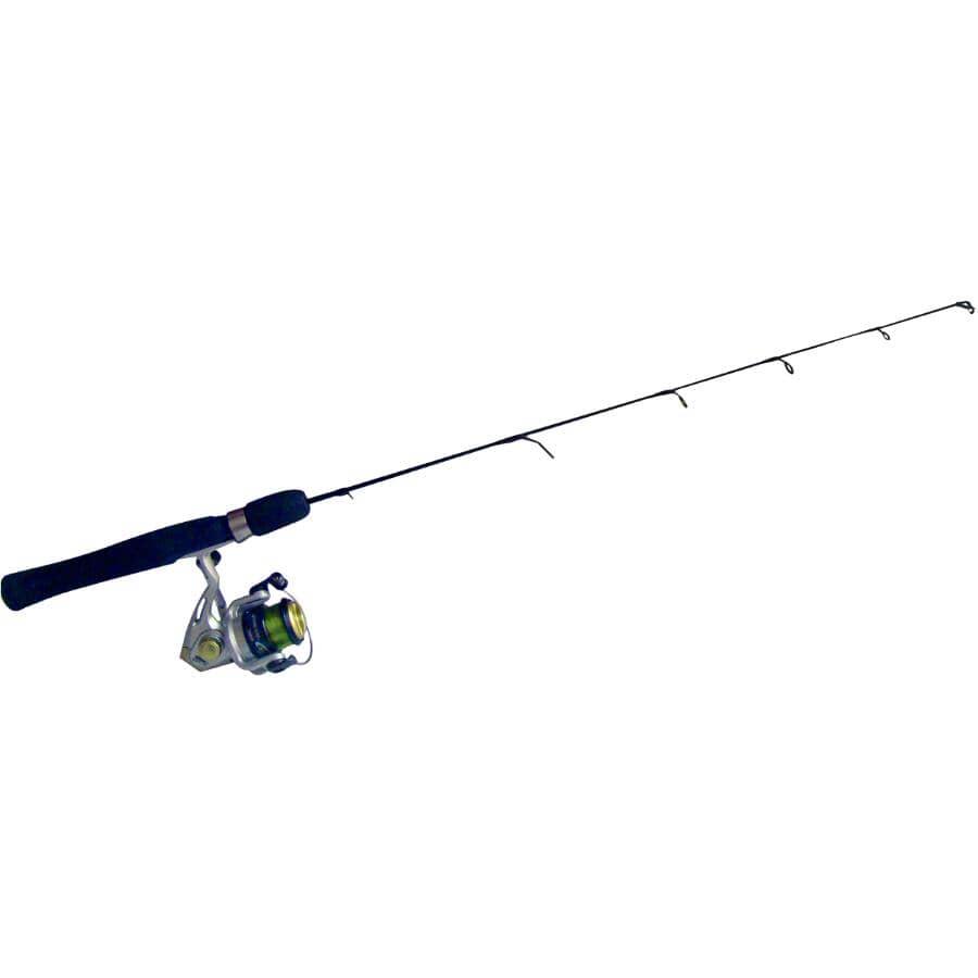 ZEBCO:Medium-Heavy Stinger Ice Fishing Rod and Reel
