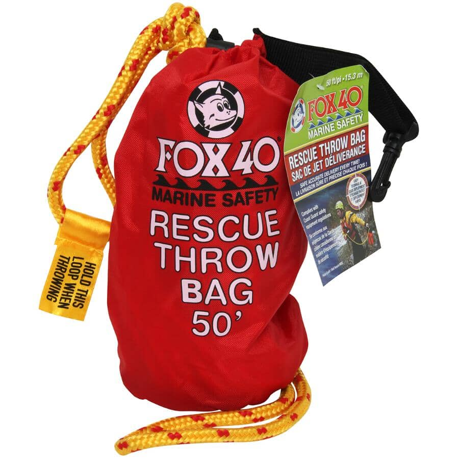 FOX 40:50' Rescue Throw Bag