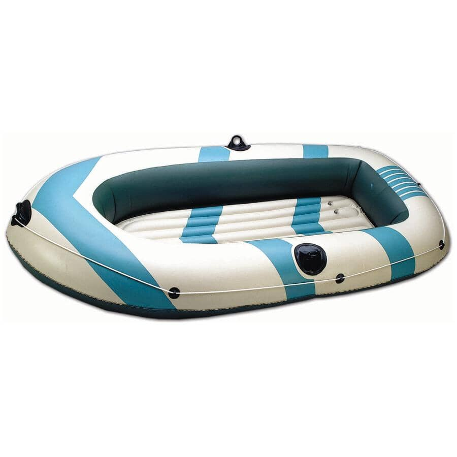 WORLD FAMOUS:3 Person Vinyl Inflatable Boat Kit