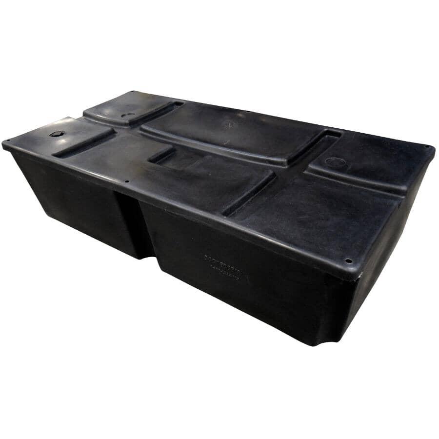 "DOCK EDGE + INC:Howell™ 400 Dock Float, 24""L x 48""W x 12""H"