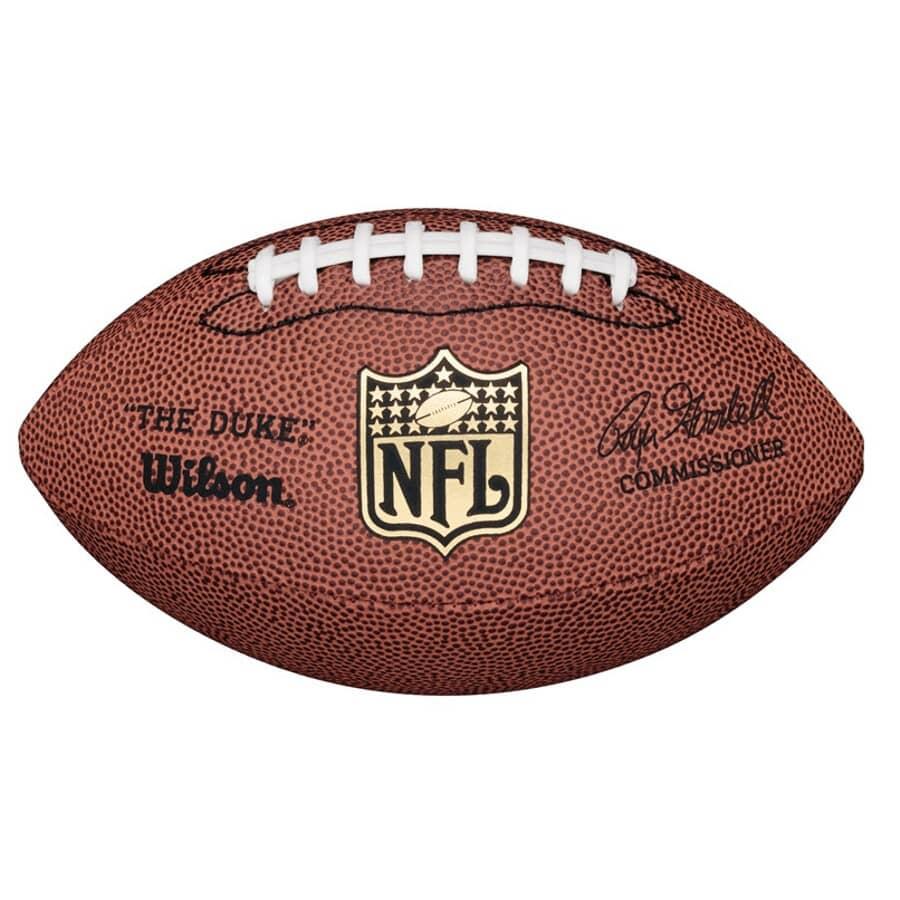 WILSON:Mini NFL Replica Leather Football