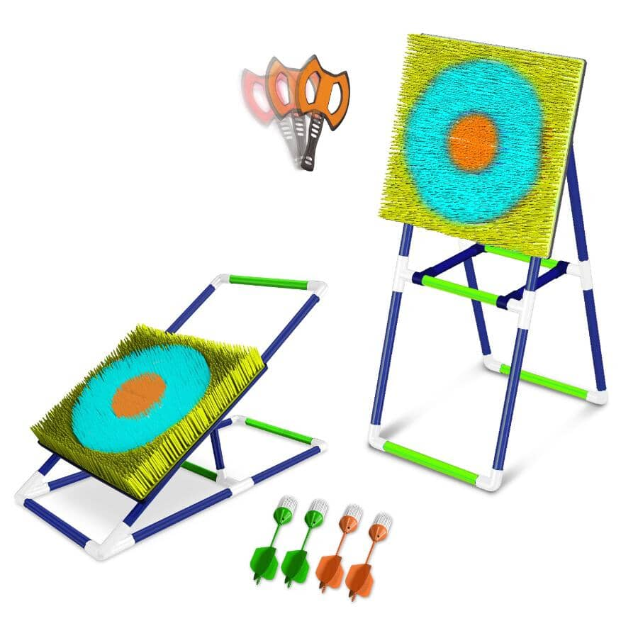 EASTPOINT:Stick 'Em Lawn Dart & Axe Throw Outdoor Games