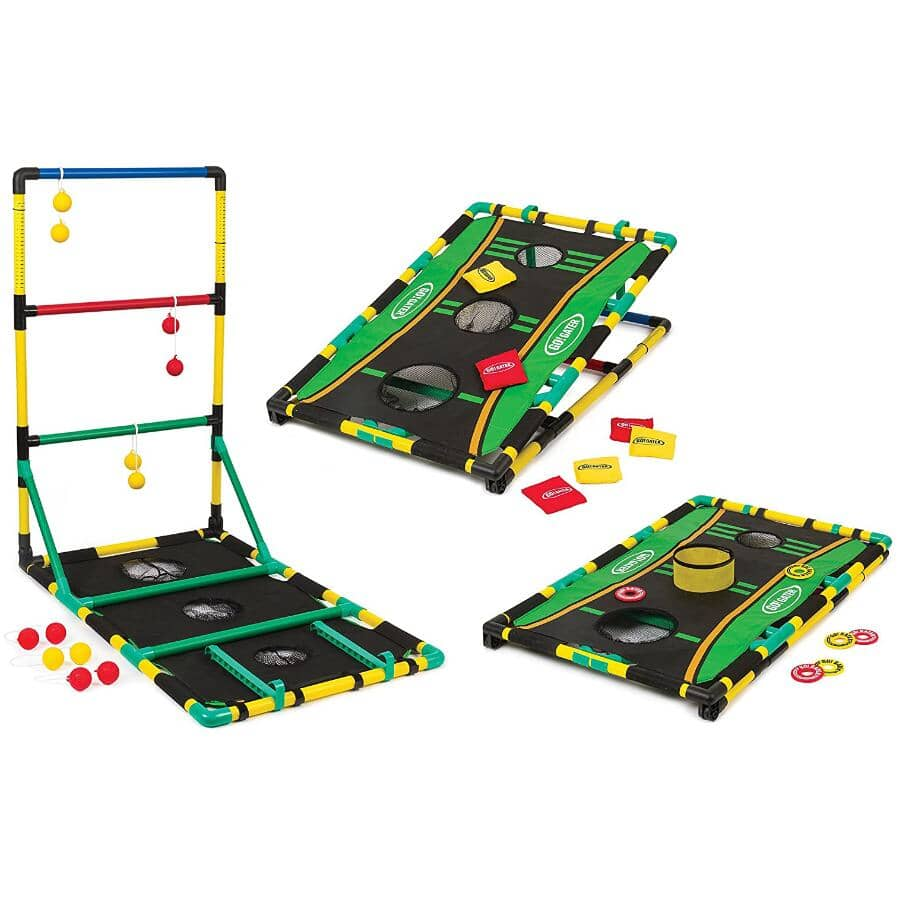 GO GATER:3-In-1 Outdoor Tailgate Game