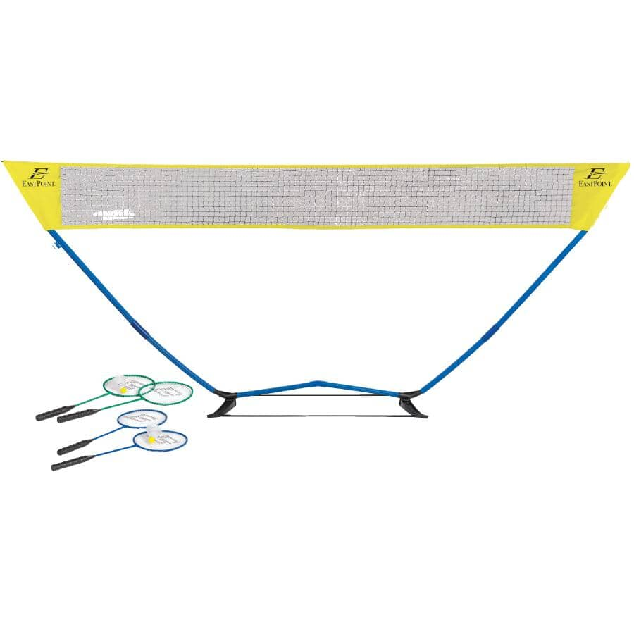 EASTPOINT:Easy Setup Badminton Set