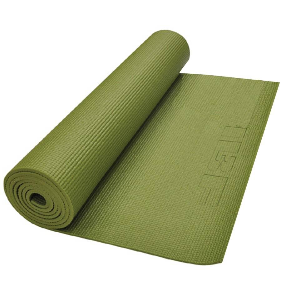"IRON BODY FITNESS:6mm x 24"" x 68"" Yoga Workout Mat"