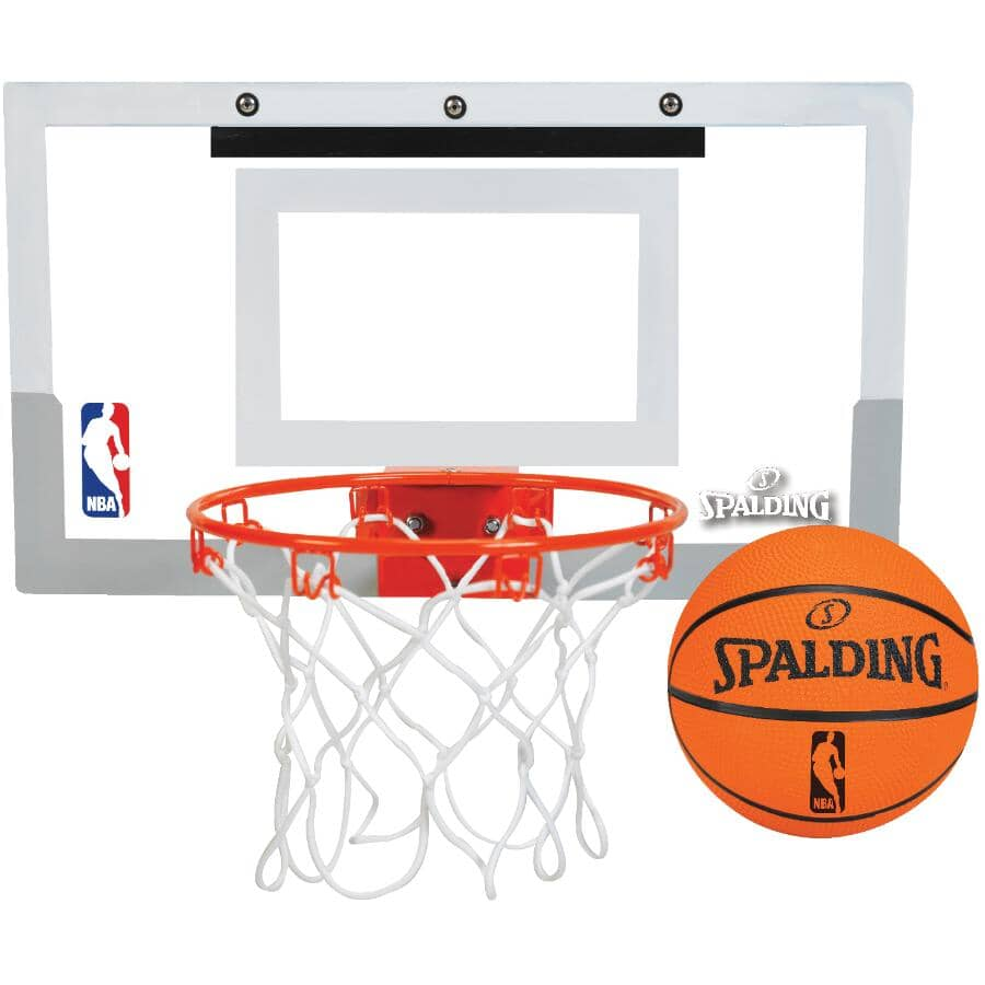 SPALDING:Ensemble de basketball NBA pour suspendre par dessus une porte