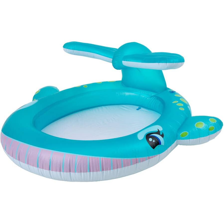 INTEX:Inflatable Whale Spray Kids Pool