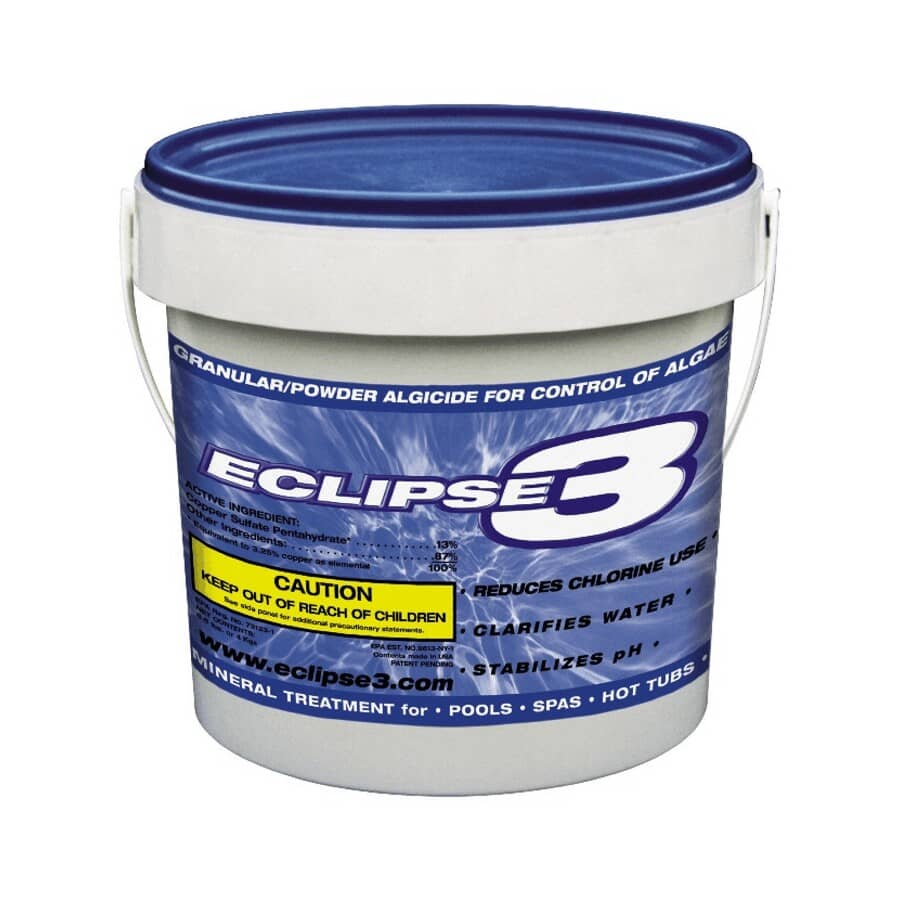 ECLIPSE3:Algicide clarifiant en granules pour piscine, 4 kg