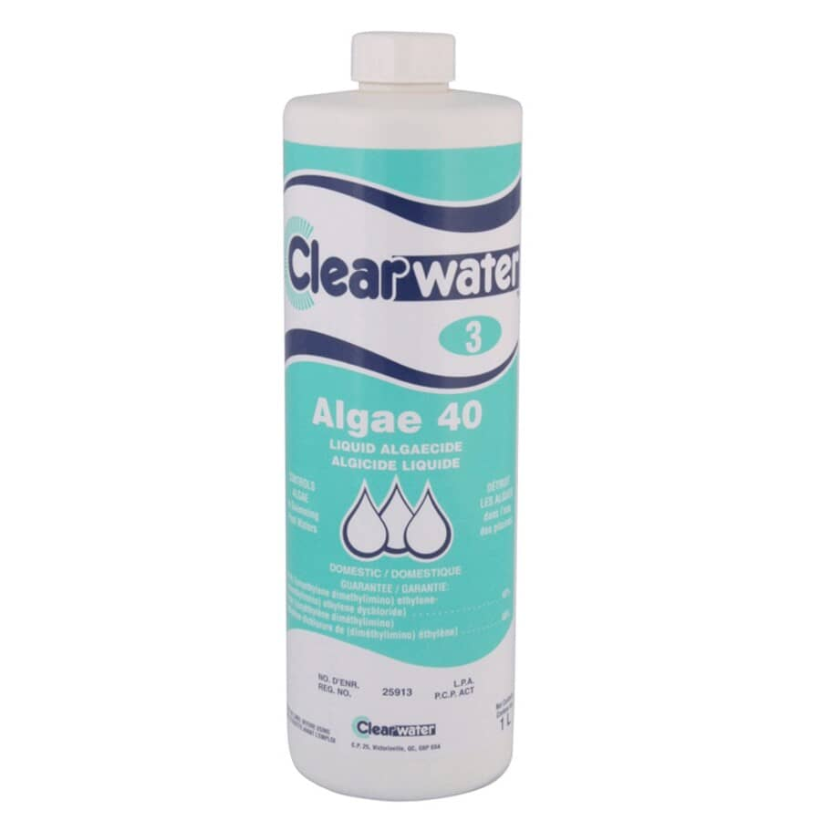 CLEARWATER:1L 40% Pool Algaecide