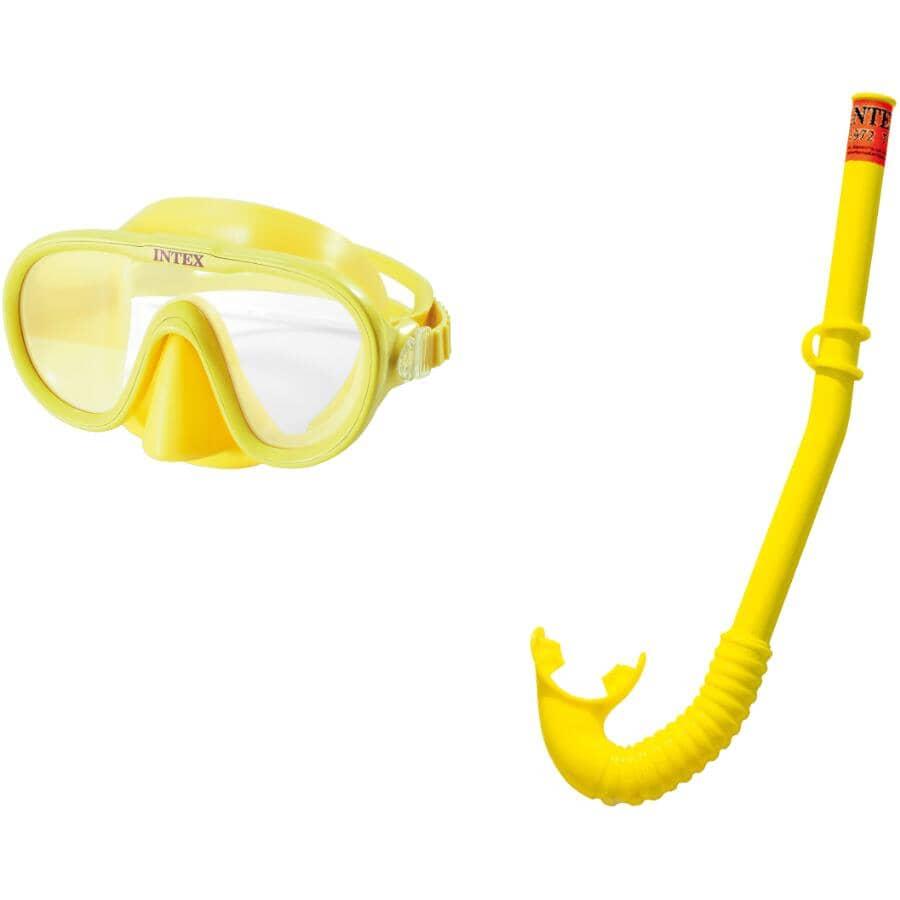 INTEX:Ensemble de masque et tuba Adventurer pour enfants