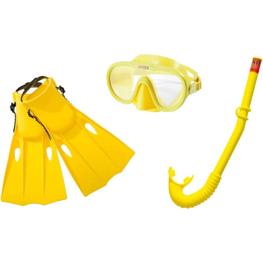 INTEX:Kid's Master Class Mask, Fin and Snorkel Set