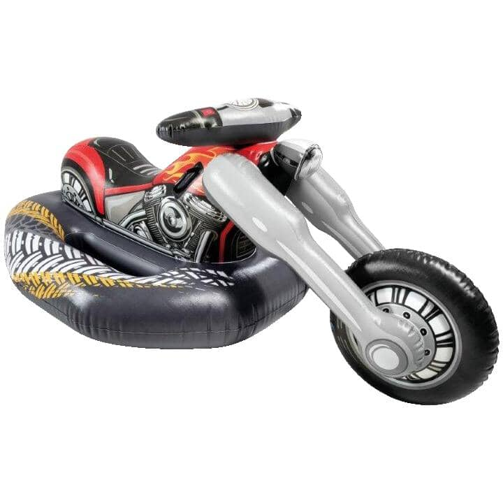 INTEX:Inflatable 1 Person Motorbike Cruiser Ride-On