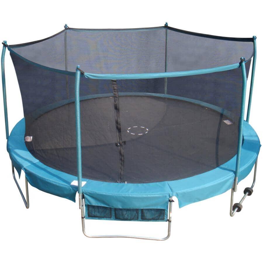 TRAINOR SPORTS:15' Trampoline, with Enclosure