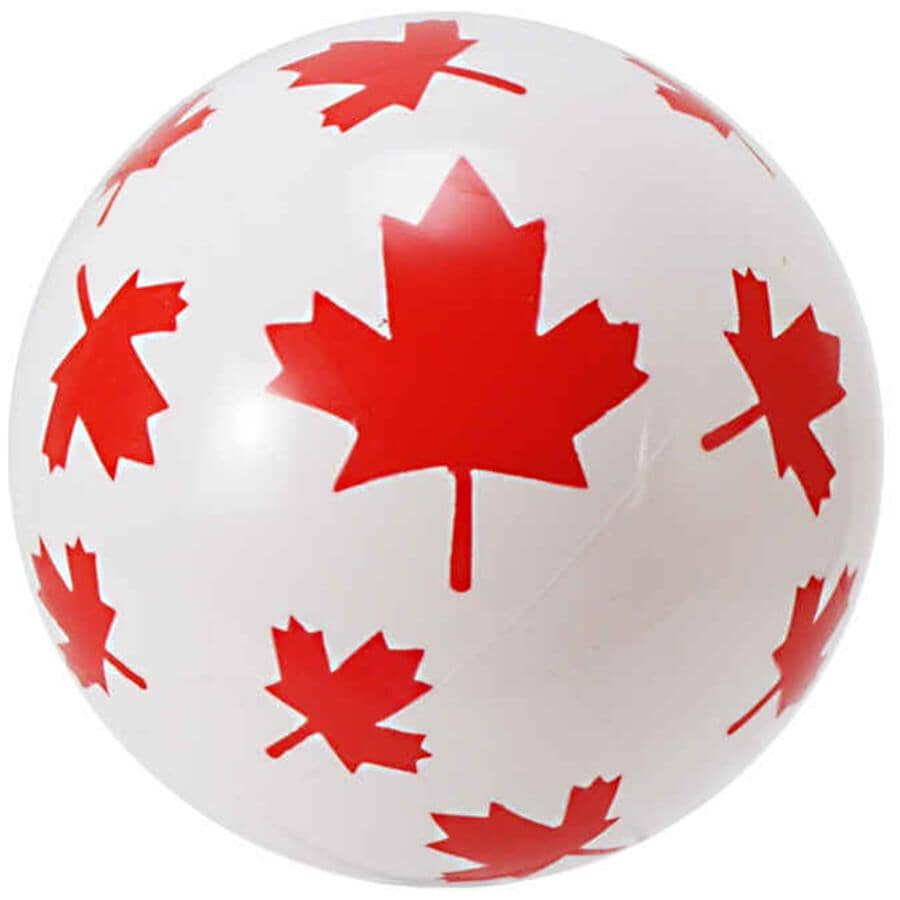 "HEDSTROM:9"" Canada Vinyl Ball"