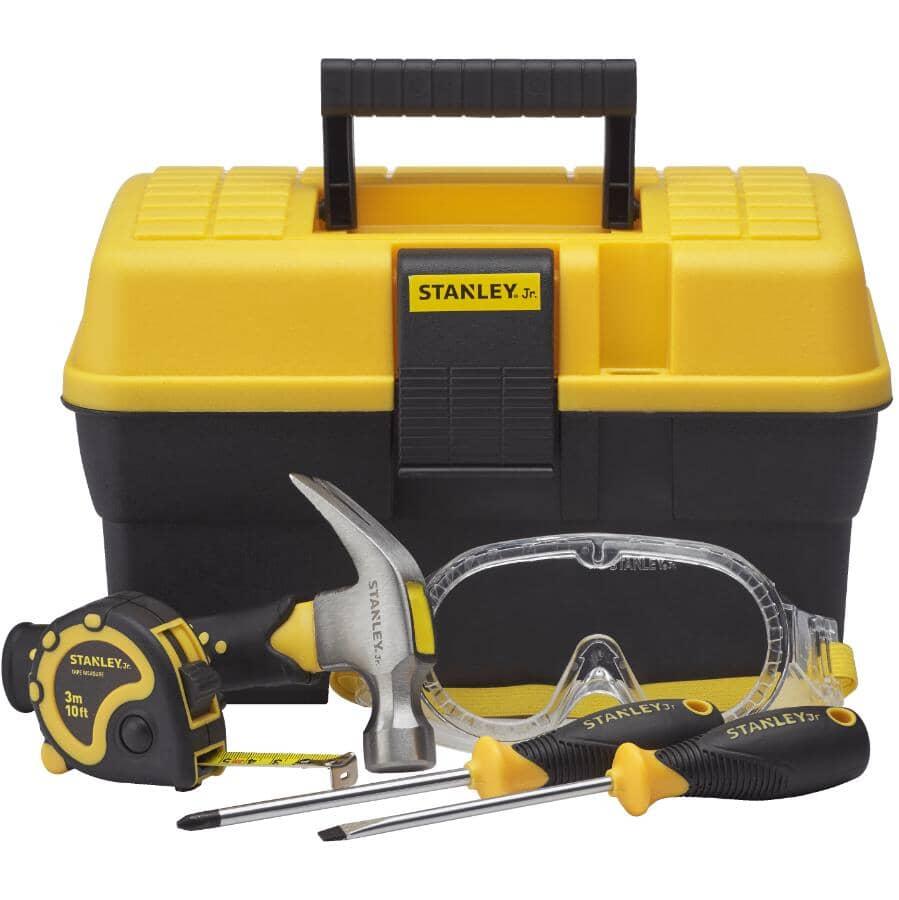 STANLEY:5 Piece Kids Tool Box Set
