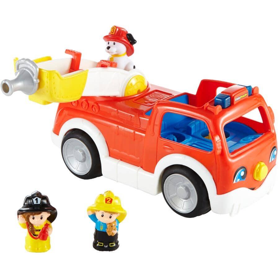 MATTEL:Little People Fire Truck Playset
